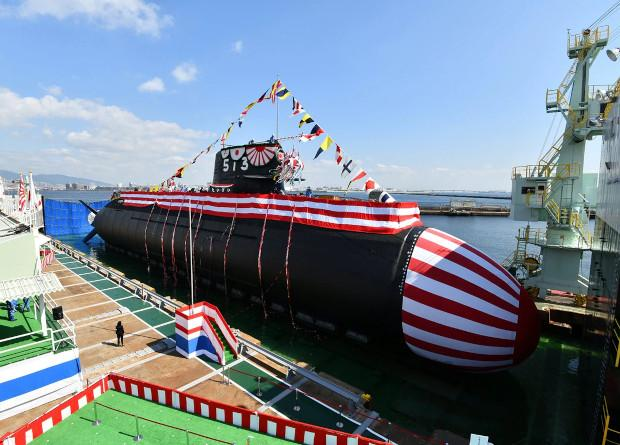 Японская неатомная подлодка нового поколения «Тайгэи»/ фото JSDF