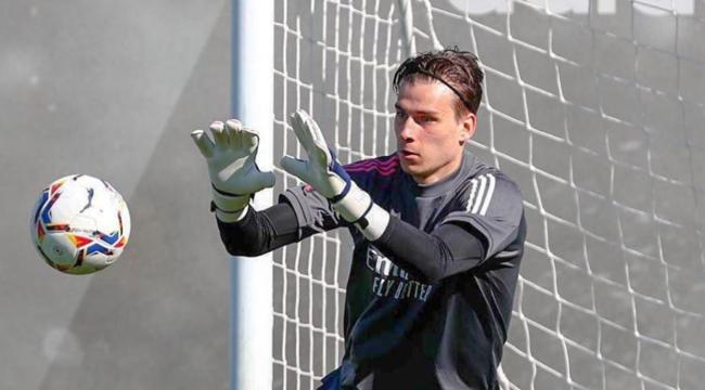 Лунин еще не играл за Реал в этом сезоне / фото realmadrid.com