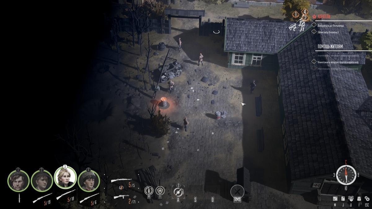 Один проход и куча врагов, не реагирующих на приманки - нелучший дизайн локации / скриншот