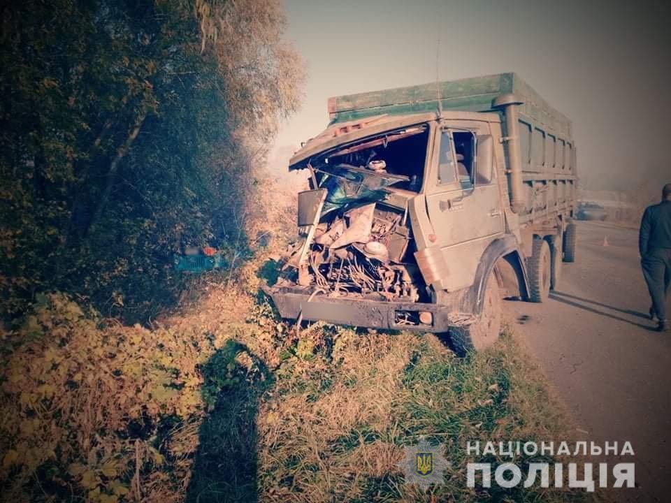 В результате ДТП никто не пострадал / фото ГУ НП в Сумской области