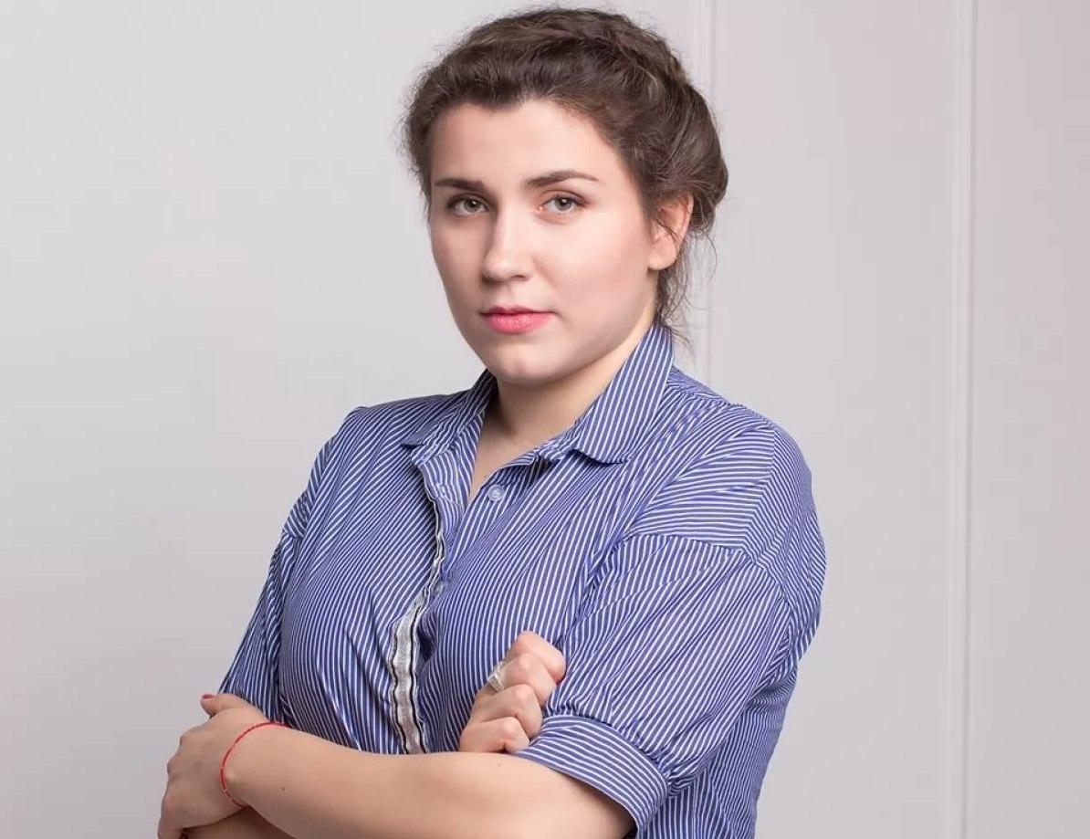 """Анна Коваленко / скриншот Telegram """"Силовой"""""""