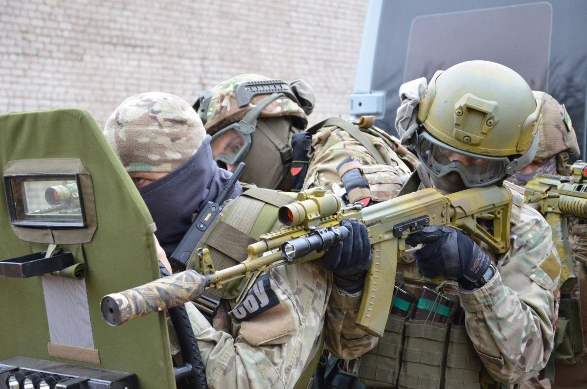 У Києві сьогодні відбудуться масштабні антитерористичні навчання / фото СБУ