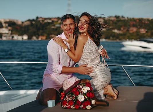 Остапчук одружився / фото instagram.com/kristygor