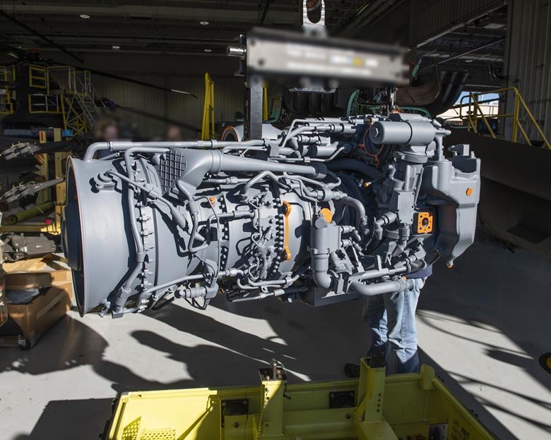 Керамічний двигун призначений для вертолітної техніки / фото GE Aviation