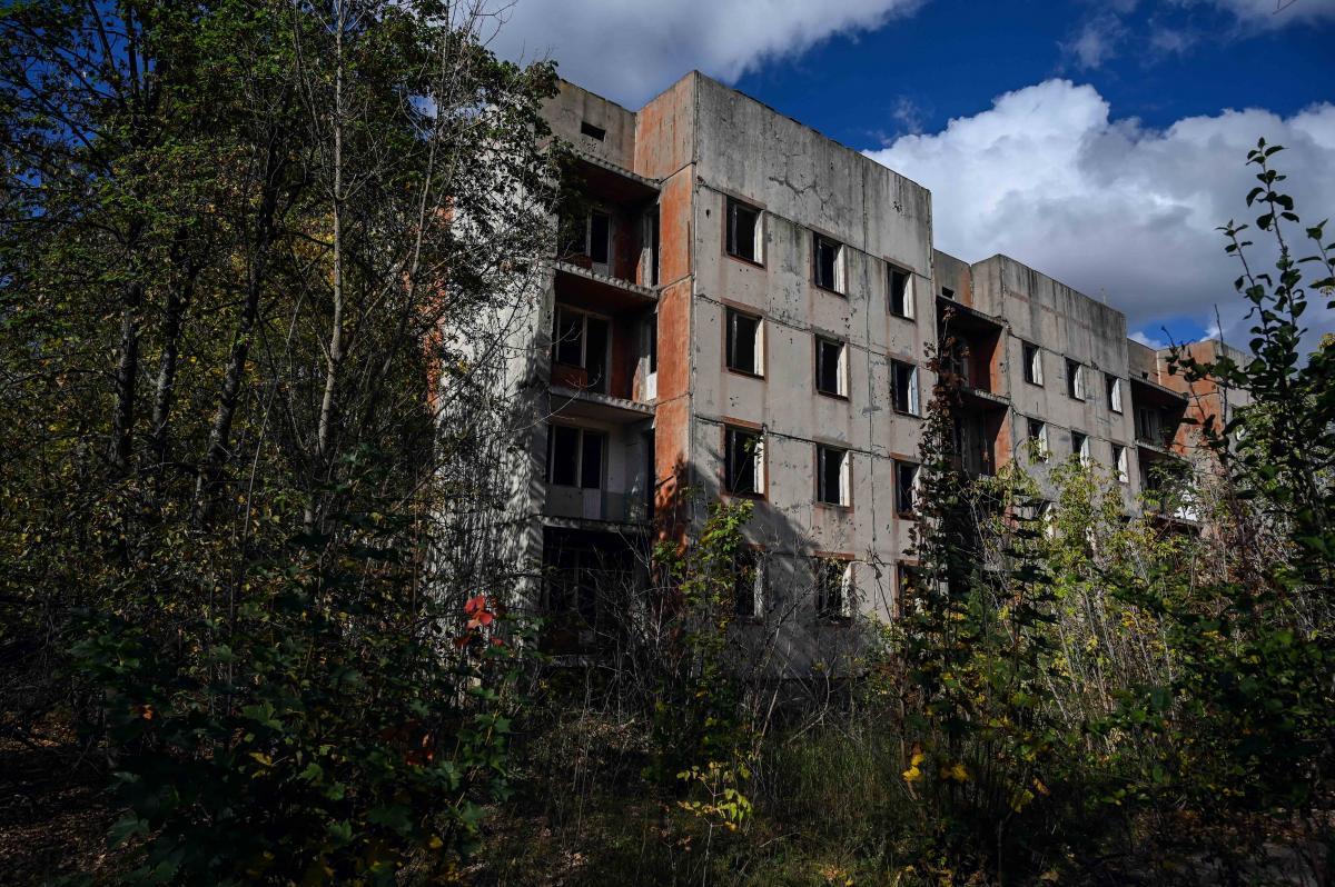 Мародеры, пожары и время уничтожили Полесское практически полностью/ фото УНИАН, Вячеслав Ратынский