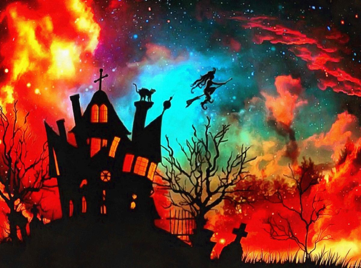Хэллоуин - ужасающие костюмы на праздник / фото stock-free.org