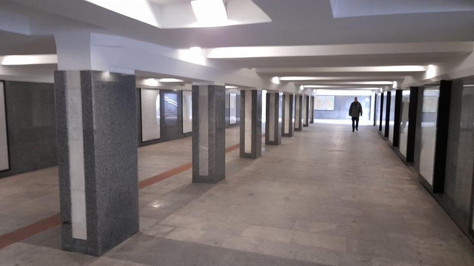 Подземный переход был закрытс 2017 года / фото УНИАН, Дмитрий Хилюк