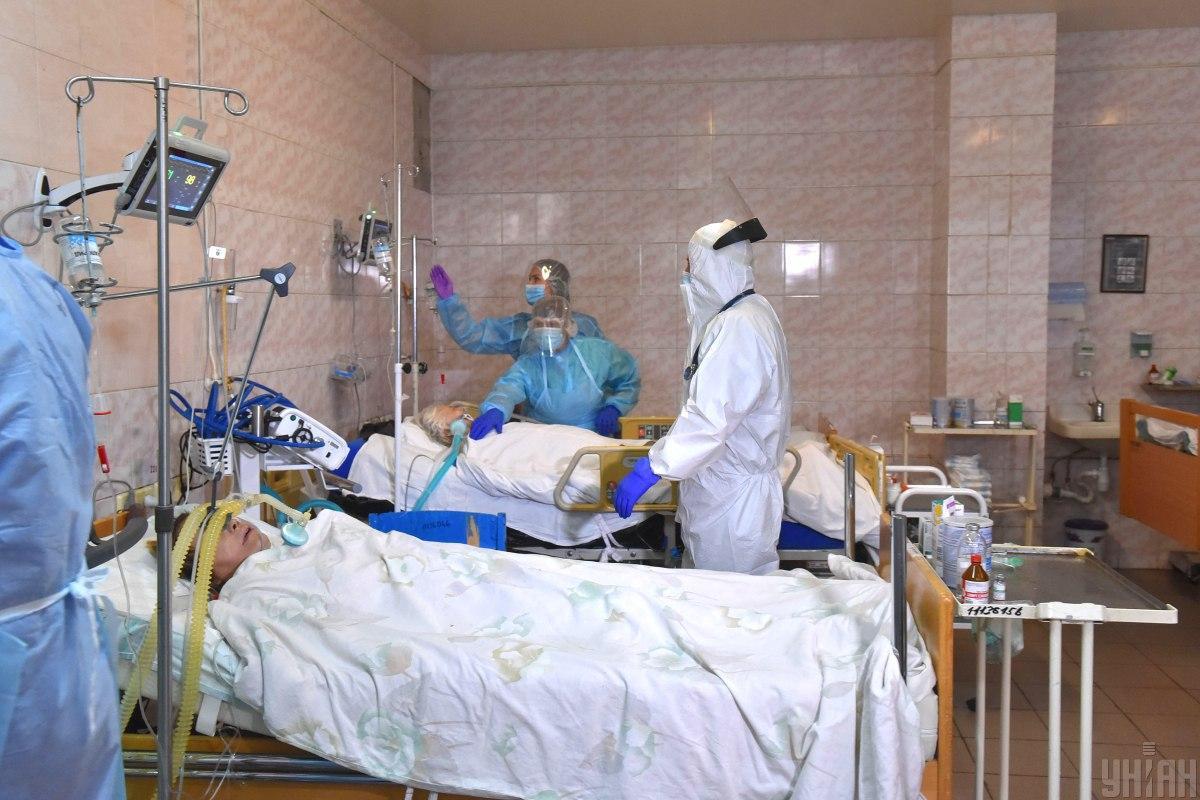 В Украине уже заняты 67,2% больничных коек / фото УНИАН, Александр Прилепа