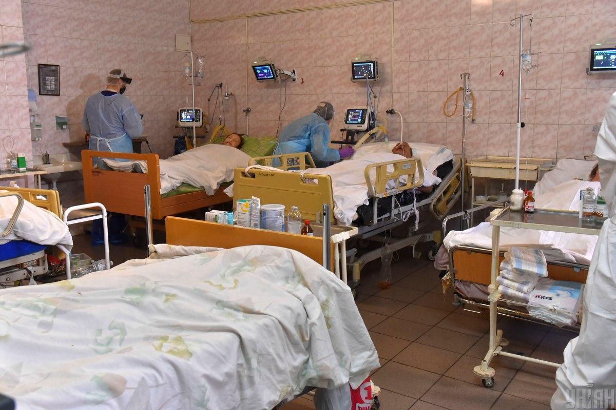 В Минздраве рассказали, сколько стоило лечение одного госпитализированного больного с COVID-19 в 2020 году / фото УНИАН, Александр Прилепа