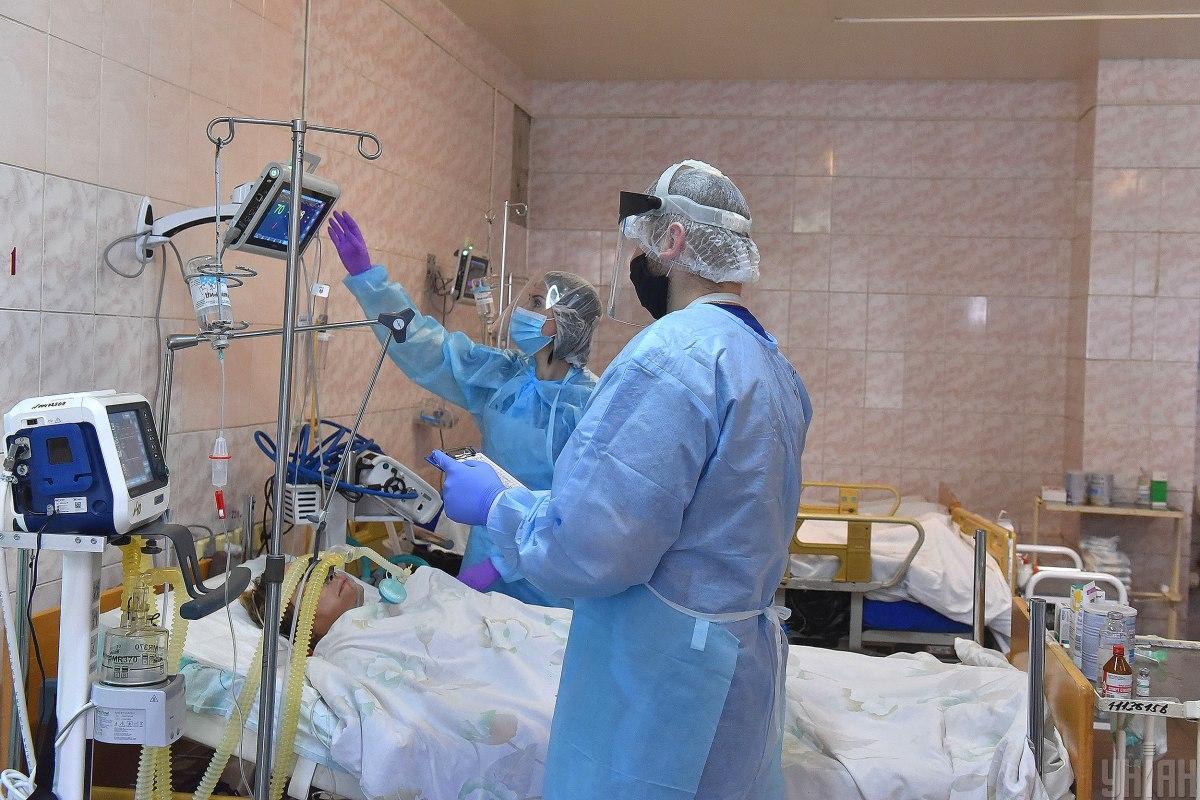 Ситуація в лікарнях ускладнюється / фото УНІАН, Олександр Прилепа