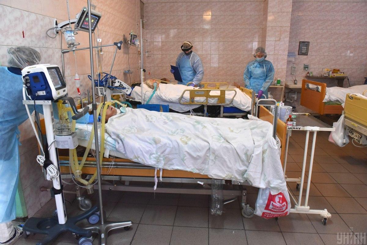 В больницах находятся 28,5 тысячи больных COVID-19 / фото УНИАН, Александр Прилепа