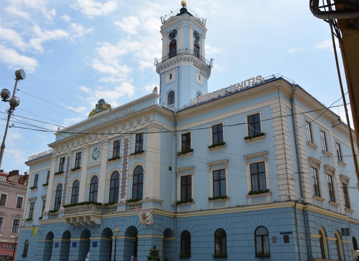 Вибори в Чернівцях / фото Facebook Чернівецької міської ради