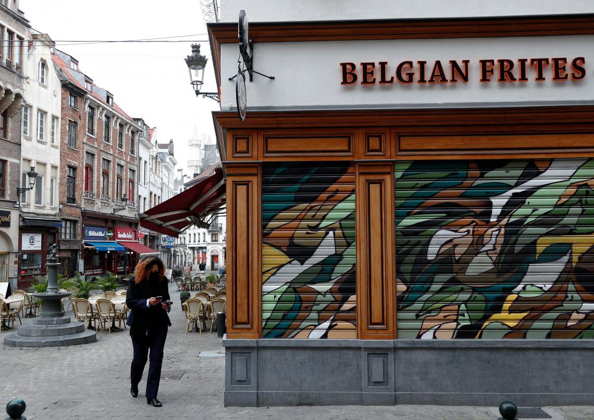 Бельгия вводит комендантский час / фото REUTERS