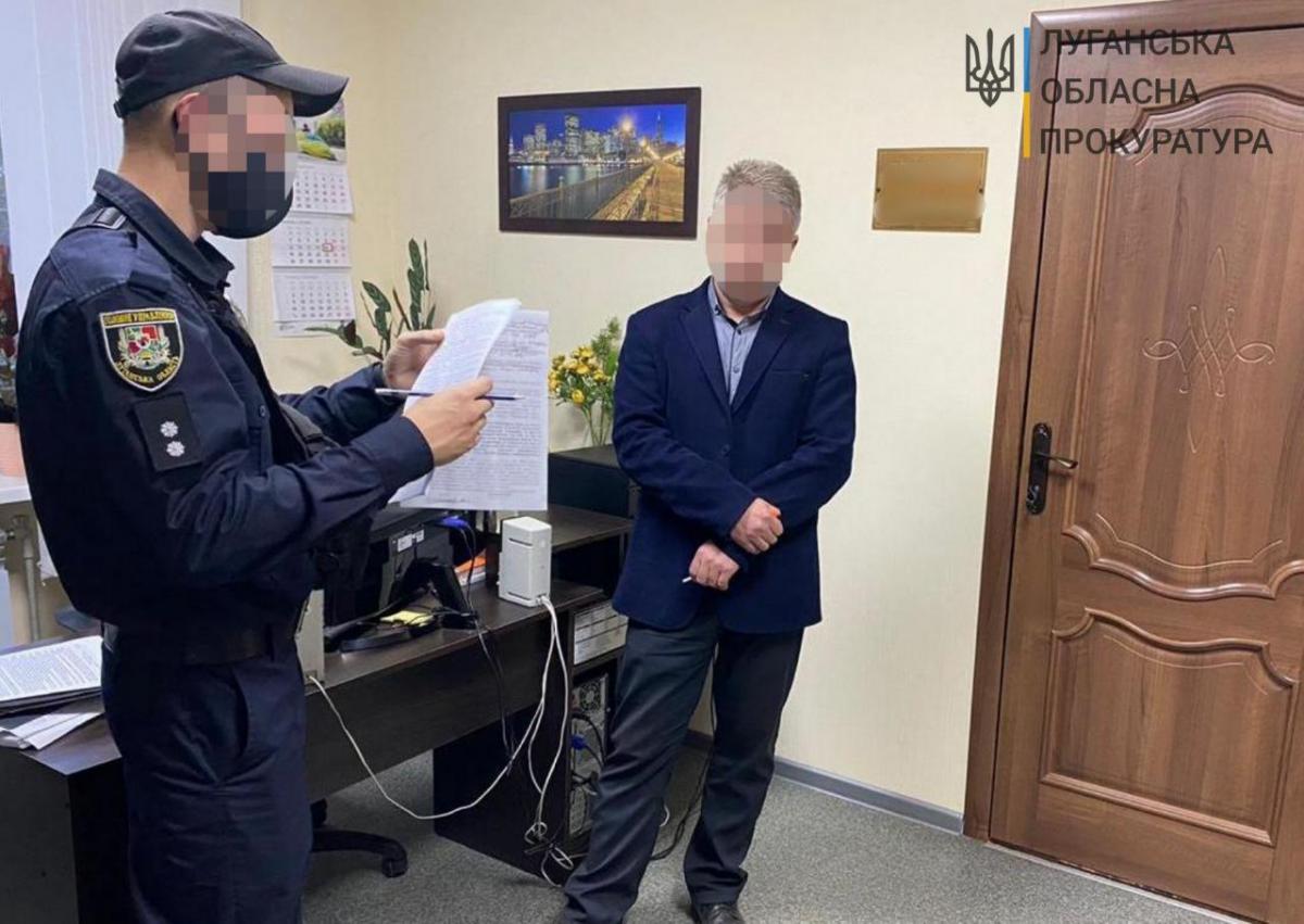 Новости Луганской области - заместитель мэра попался на крупной взятке: фото / gp.gov.ua