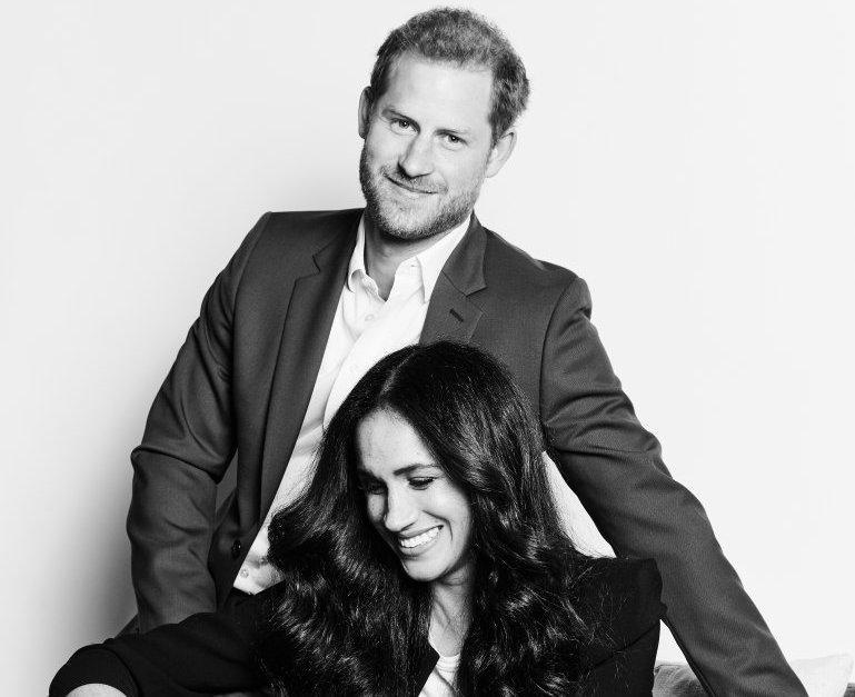 Принц Гарри и Меган Маркл представили новое совместное фото / фото Matt Sayles / Time