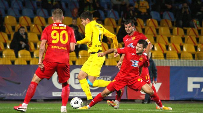 Олександрія розгубила перевагу за рахунку 4:0 / фото ФК Олександрія