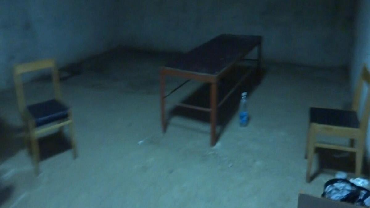 Стіл, на якому катують в'язнів Ізоляції