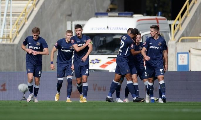 Дніпро-1 забив по голу на початку кожного з таймів / фото ФК Дніпро-1