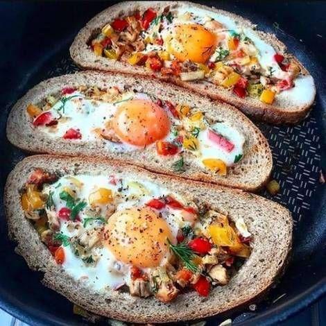 Горячие бутерброды на сковороде / фото cookpad