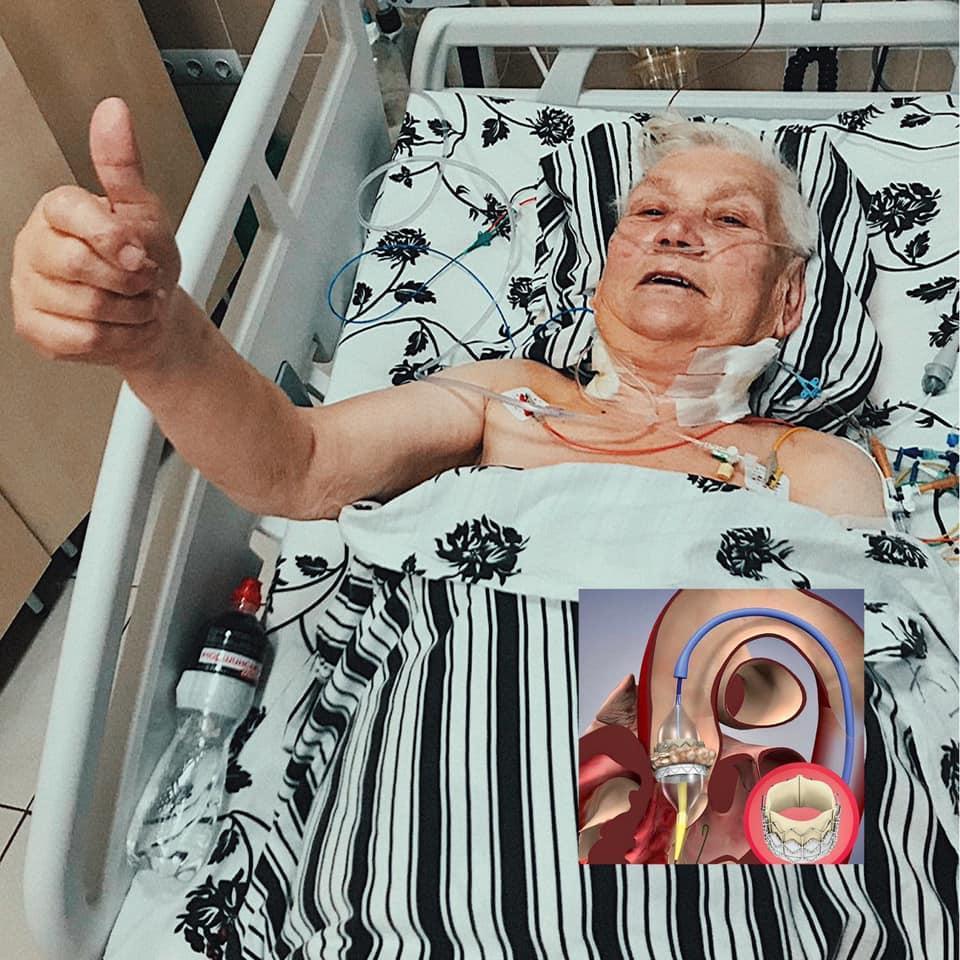 Женщина, которой сделали уникальную операцию / фото facebook.com/ulyana.samchuk