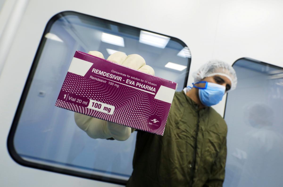 """Врачи ЕС выразили сомнение относительно эффективности препарата """"Ремдесивир"""" / фото REUTERS"""