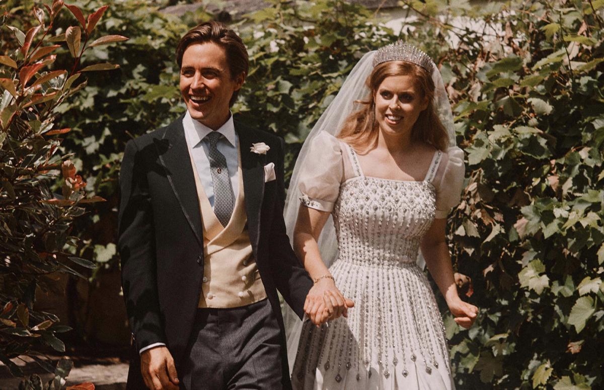Принцесса Беатриса свадьба / фото handout