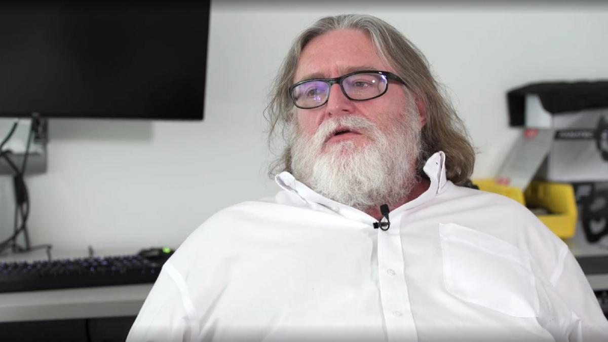 Основатель Valve, Гейб Ньюэлл /фото pcgamer.com