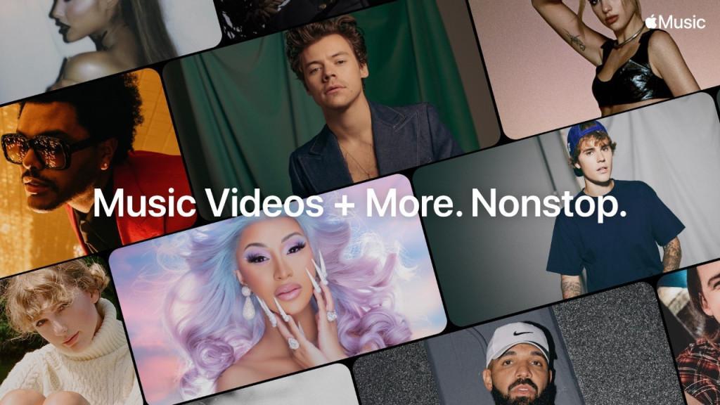 Apple запустила Music TV — новый потоковый сервис с музыкальными видео / фото Apple