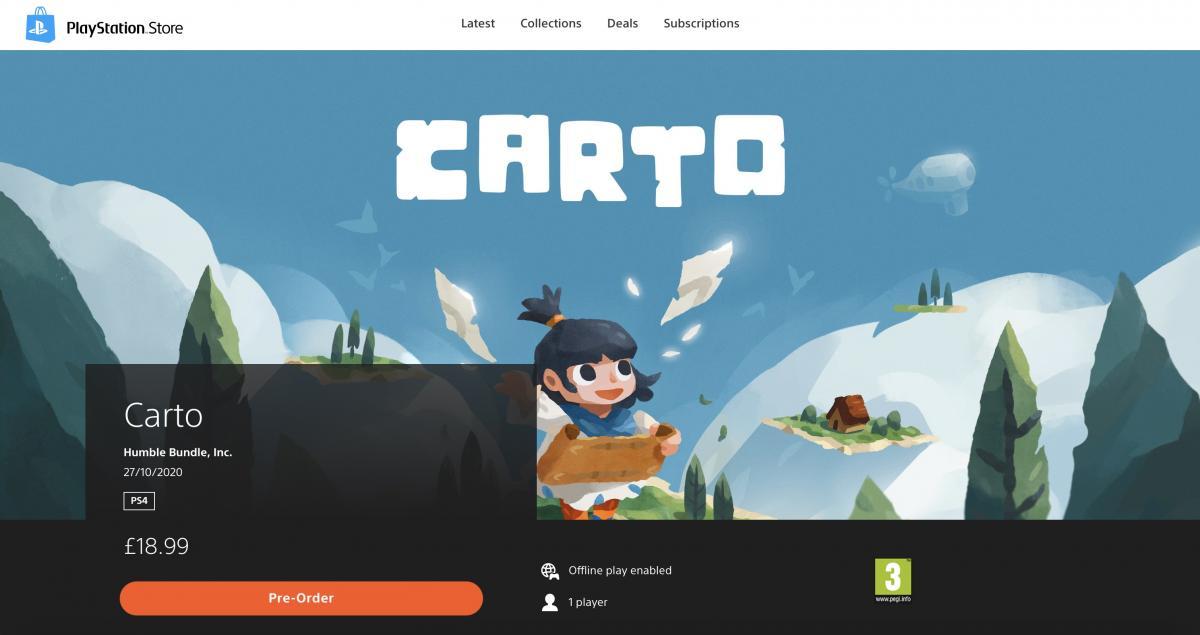 Так выглядит страница игры в новом PS Store /фото resetera.com
