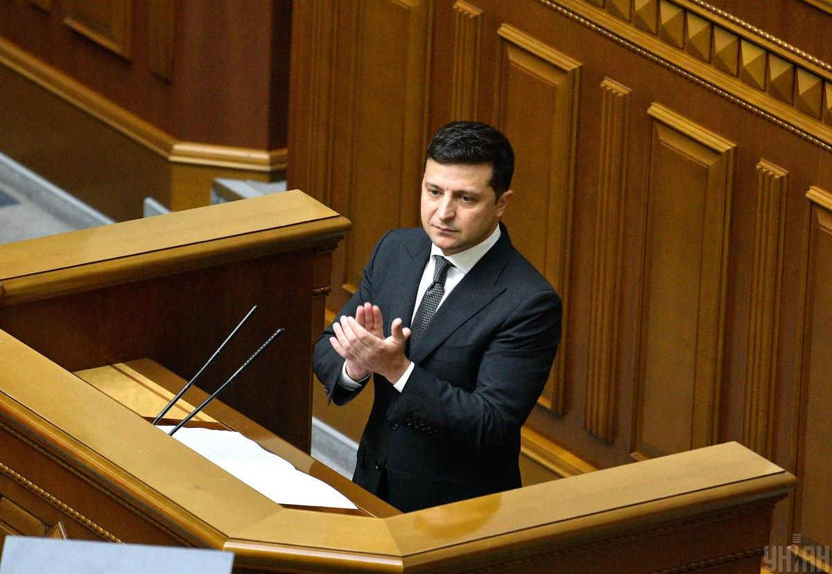 Zelensky tops rating of trust in politicians in Ukraine / Photo from UNIAN