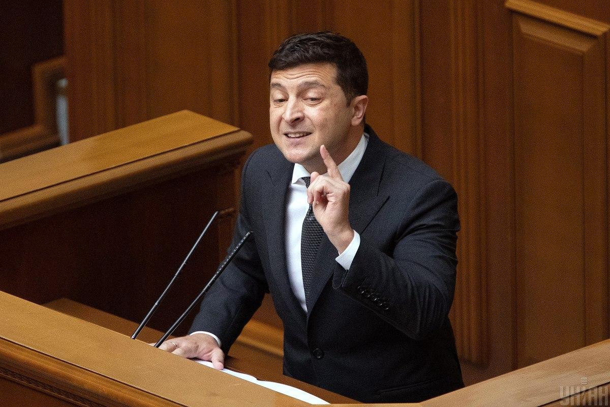 Зеленський поки не планує розпускати парламент / Фото УНІАН, Олександр Кузьмін