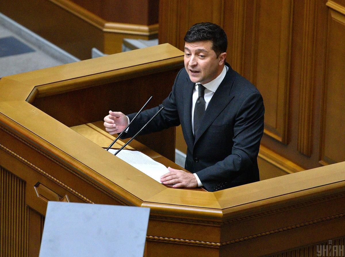 Zelensky blames oligarchs for the constitutional crisis  / Photo from UNIAN