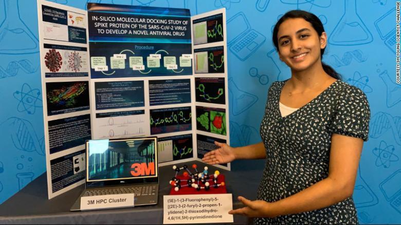 Аника признала, что выиграть премию и звание лучшего молодого ученого – это честь/ фото 3M Young Scientist Challenge