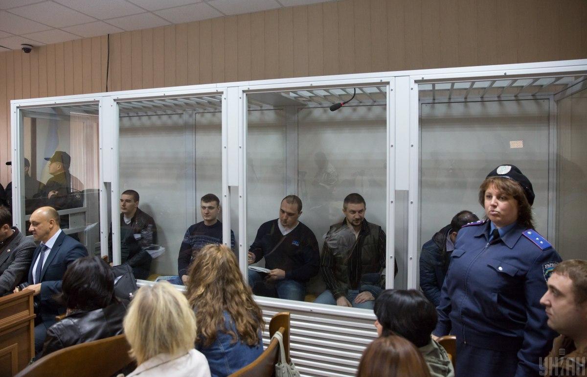 Розстріли на Майдані - суд оголосив у розшук беркутівців, яких віддали бойовикам в рамках обміну / Фото УНІАН, Інна Соколовська