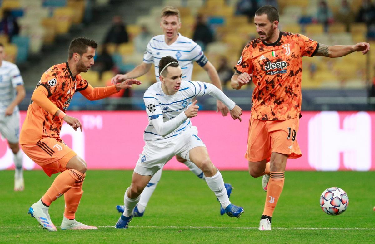 Динамо - Ювентус / фото REUTERS