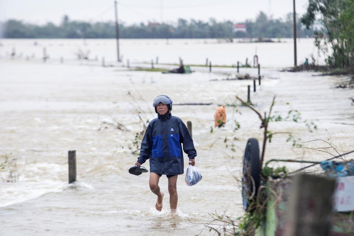 Повінь у В'єтнамі / Фото REUTERS