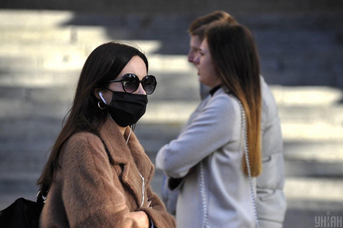 Штрафи за маски в Україні / фото УНІАН, Сергій Чузавков