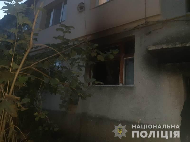 Під Одесою чоловік спалив квартиру своїх родичів / Національна поліція