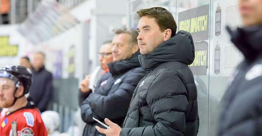 Сергій Вітер тренував збірну з минулого року / фото ХК Донбас