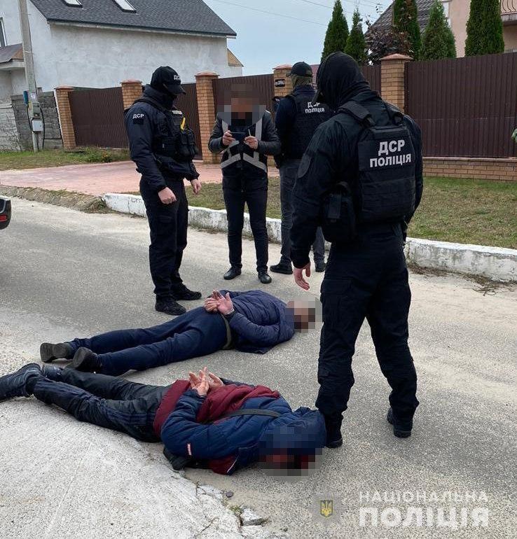 Правоохоронціінсценували викраденнядитини блогерки / фото НПУ