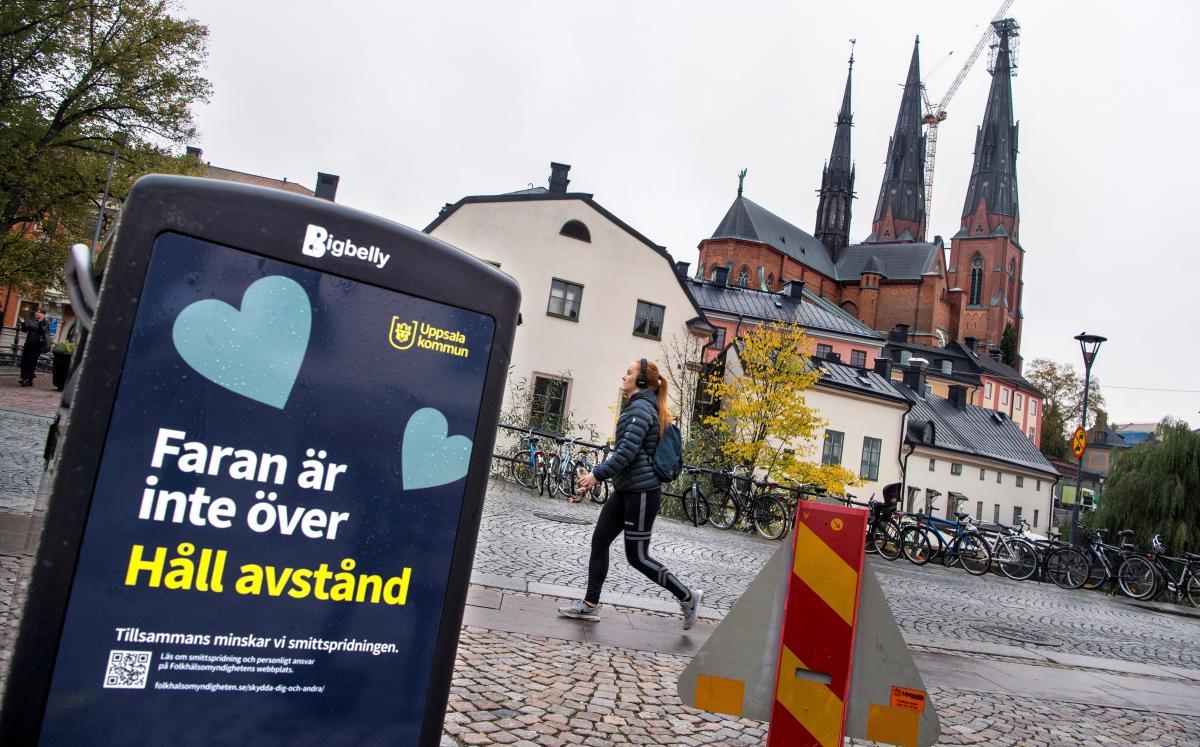 Коронавирус новости - Швеция больше не будет советовать пенсионерам избегать контактов с людьми / REUTERS