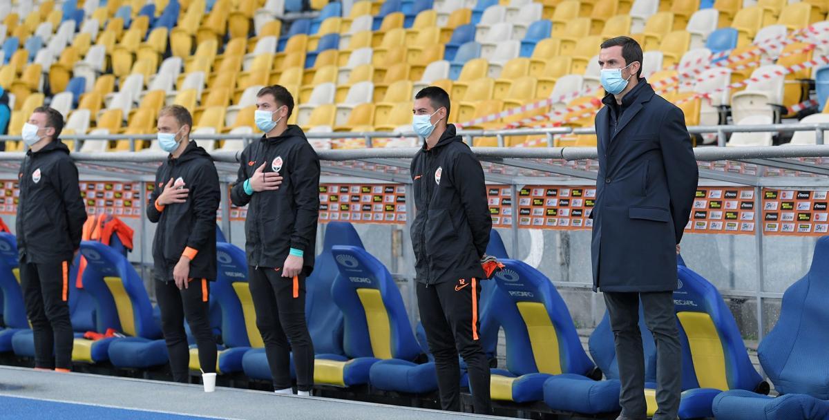 Шахтер проводит домашние матчи в Киеве / фото shakhtar.com