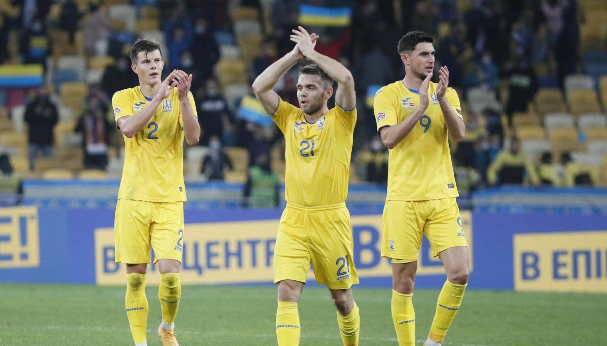 Сборная Украины уступила французам и немцам, но победила Испанию / фото REUTERS