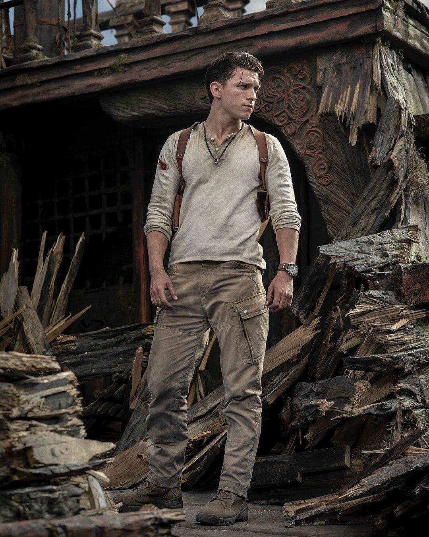Том Холланд у ролі Нейтана Дрейка / фото instagram.com/tomholland2013