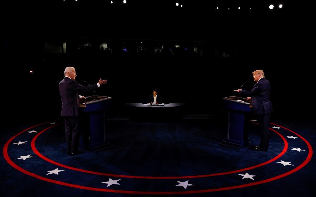Дебати кандидатів у президенти США Трампа і Байдена / фото REUTERS