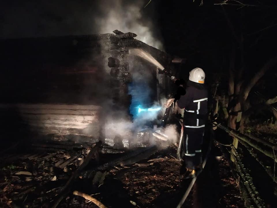 Во время пожара погибли трое мужчин / фото ГСЧС