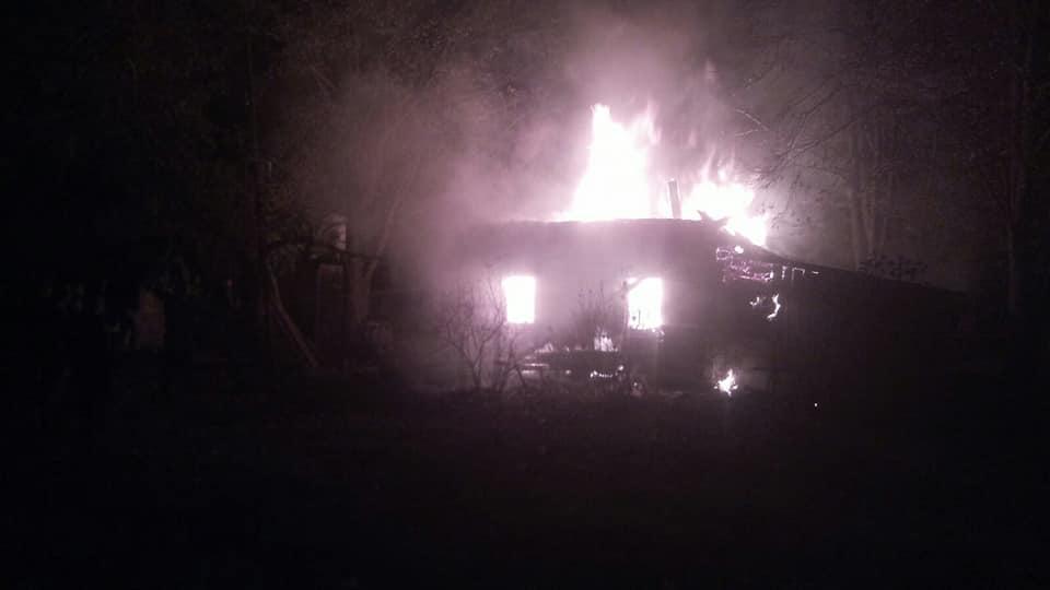 Причиной пожара могло стать курение в постели / фото ГСЧС