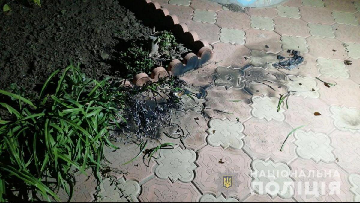 Во время инцидента никто из людей не пострадал / фото Нацполиция