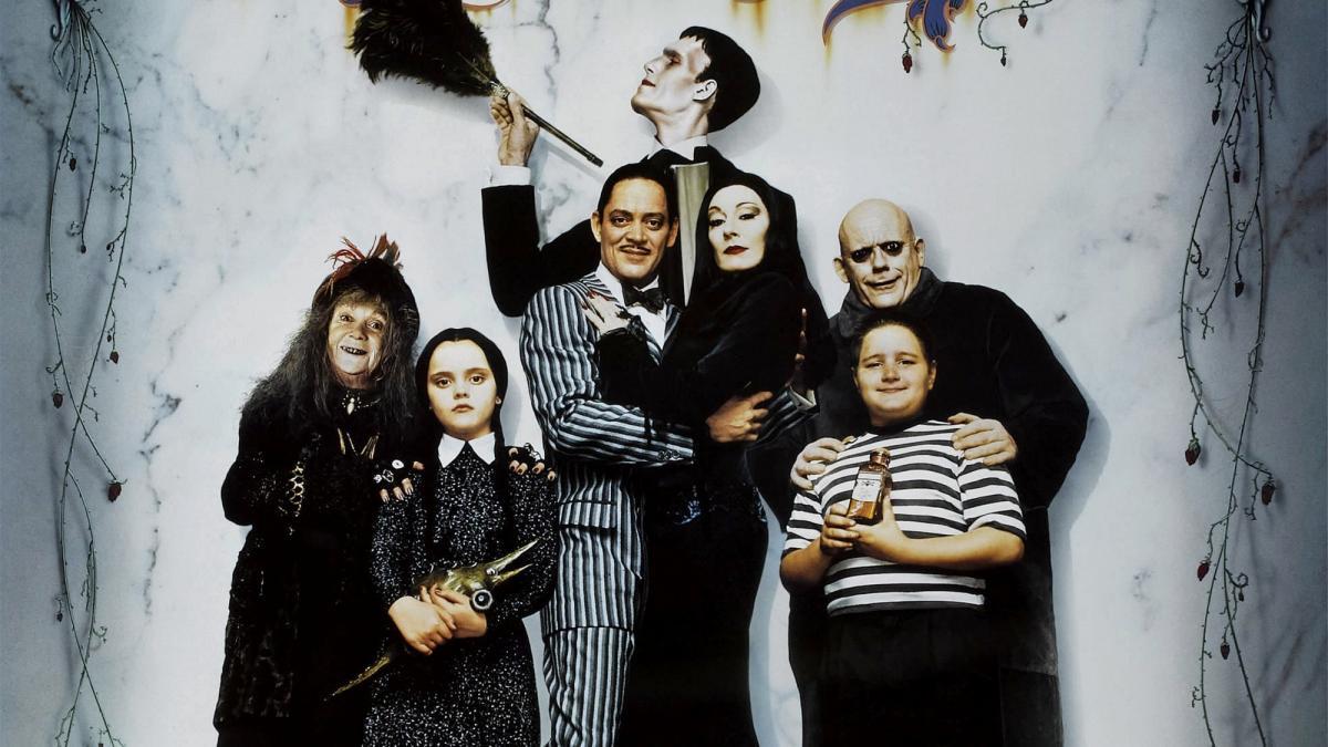 Тім Бертон веде переговори про зйомки нового серіалу про сімейку Аддамс / фото kinopoisk