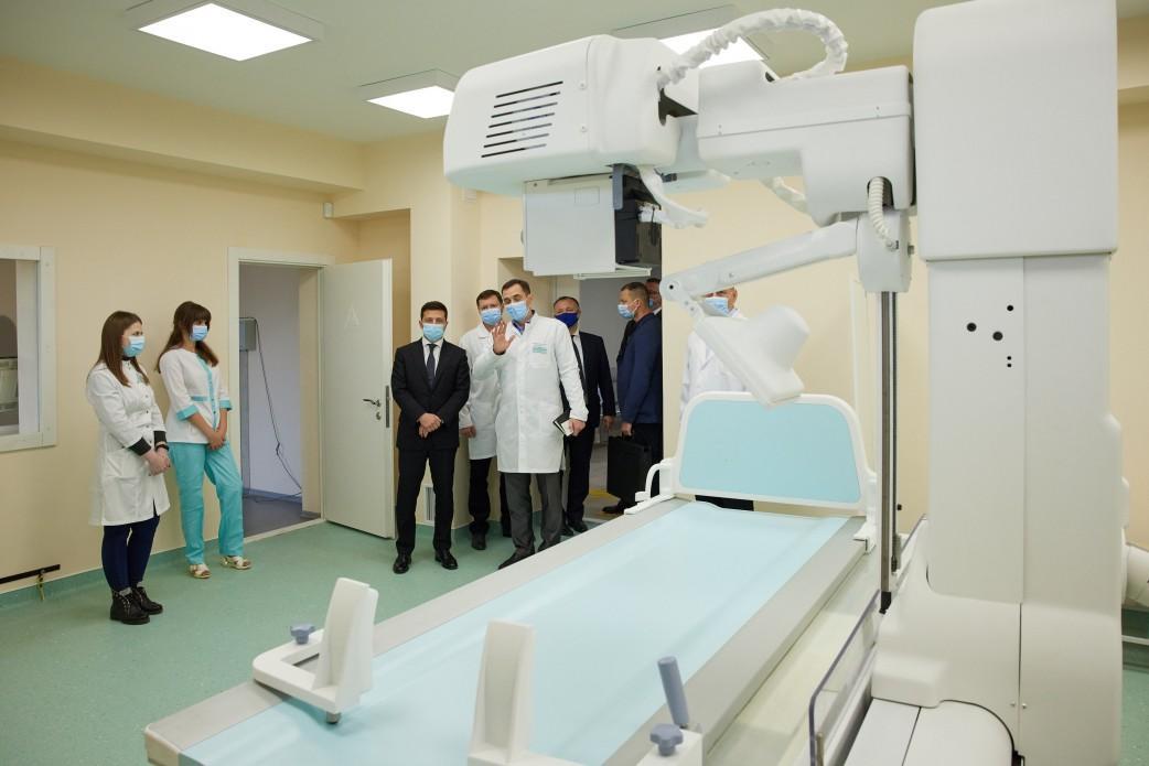 Проект предусматривает создание в составе больницы консультативно-диагностического подразделения / фото president.gov.ua
